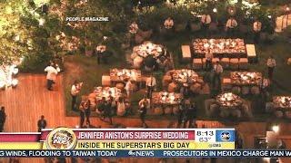 Jennifer Aniston & Justin Theroux Surprise Wedding - GMA