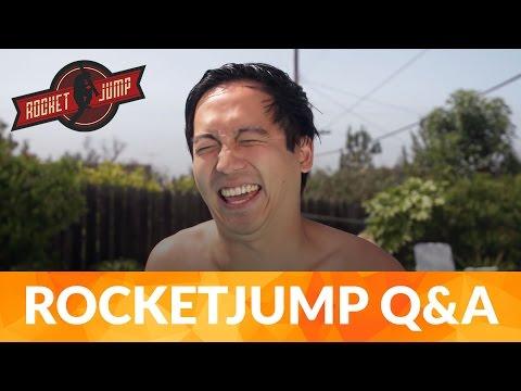 RocketJump talk filmmaking - Interview