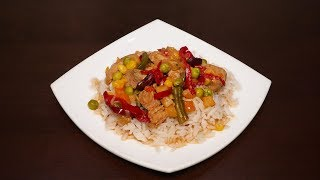 ♨️Вкусное мясо с овощами в мультиварке 🥩 Простой рецепт вкусного мяса #рецепты для мультиварки |еда
