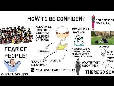 How to be confident nouman ali khan animated youtube how to be confident nouman ali khan animated ccuart Images