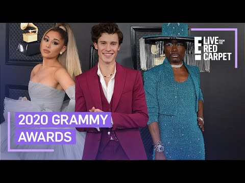 2020 Grammys Fashion Round-Up  E Red Carpet & Award Shows