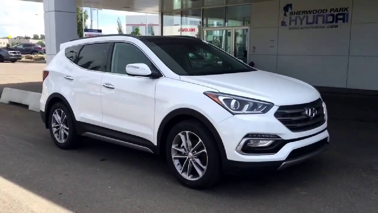 2017 hyundai santa fe sport ultimate 2 0t awd in depth walk around sherwood park hyundai. Black Bedroom Furniture Sets. Home Design Ideas