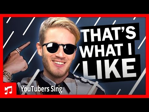 PewDiePie Singing That's What I Like By Bruno Mars