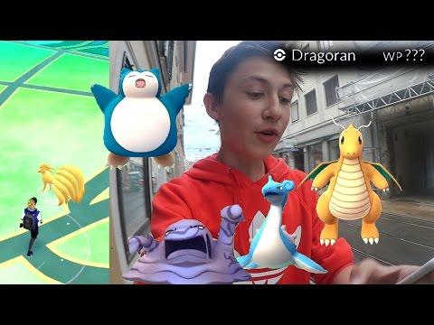 Dragoran mit WP ???+ 3x Relaxo+Lapras+Sleimok+Vulnona!!• Pokemon GO deutsch