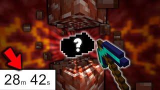 Minecraft, but it's a Speedrun to Find Netherite