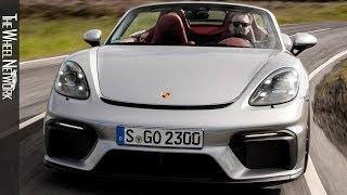 2020 Porsche 718 Spyder   GT Silver Metallic   Driving, Interior, Exterior