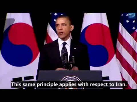 President Obama address at Hankuk University - Korea - - English Subtitles
