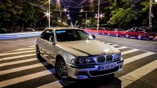 Bmw m5 e39 v8 400hp road test /acceleration 0-200km/h