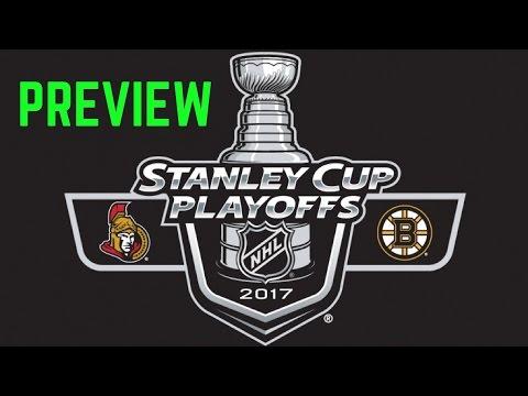 Ottawa Senators vs Boston Bruins Preview | Stanley Cup Playoffs 2017