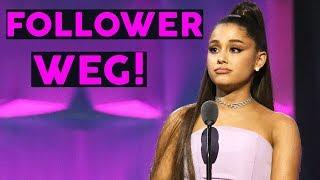 Ariana Grande: Millionen Follower weniger auf Instagram