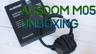 Ausdom M05 Unboxing - Bluetooth & Wired Headset