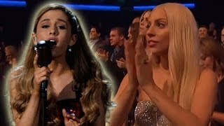 Ariana Grande Wows Lady Gaga with Soulful Ballad at American Music Awards 2013!