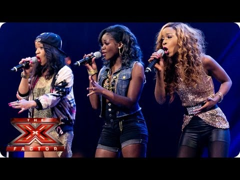 Miss Dynamix -- Bootcamp Auditions -- The X Factor 2013