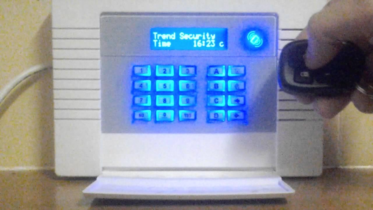 Trend Alarms Pyronix Enforcer Wireless Alarm Youtube