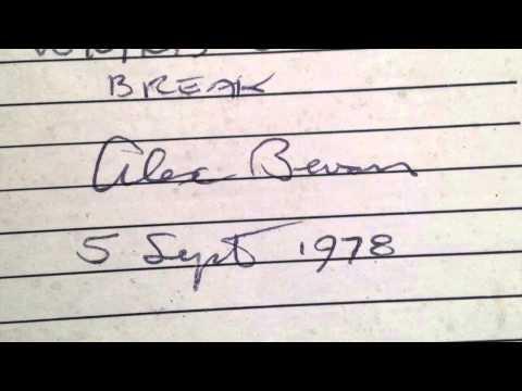 WMMS Coffeebreak Sept 5th 1978