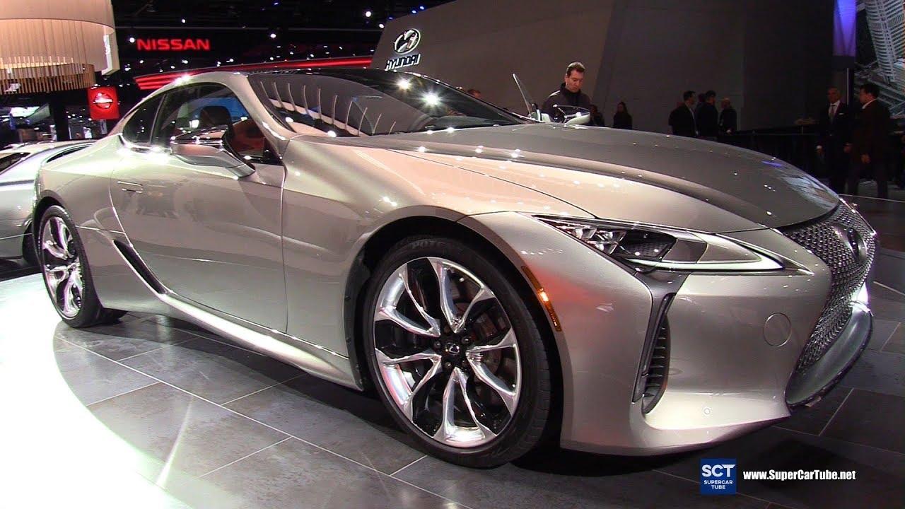 2018 Lexus Lc 500 Exterior And Interior Walkaround 2017 Detroit