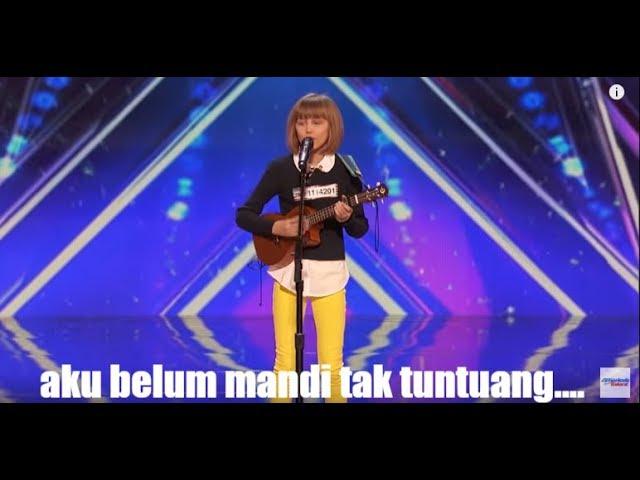 lagu tak tuntuang dibawakan oleh peserta american gots talent(video viral)