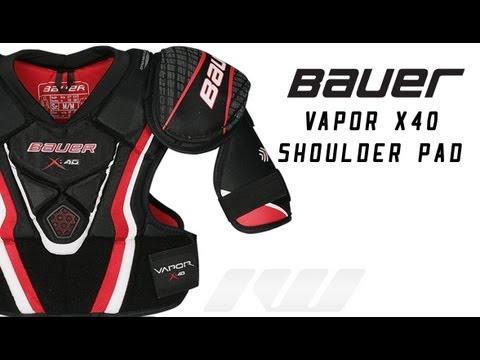 Bauer Vapor X40 Hockey Shoulder Pads