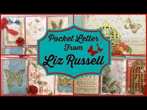 Pocket Letter from Liz Russell!
