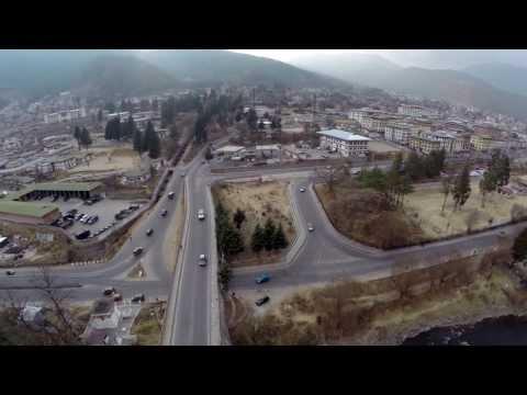 Thimphu Bridge Aerial Video (DJI Phantom + GoPro)