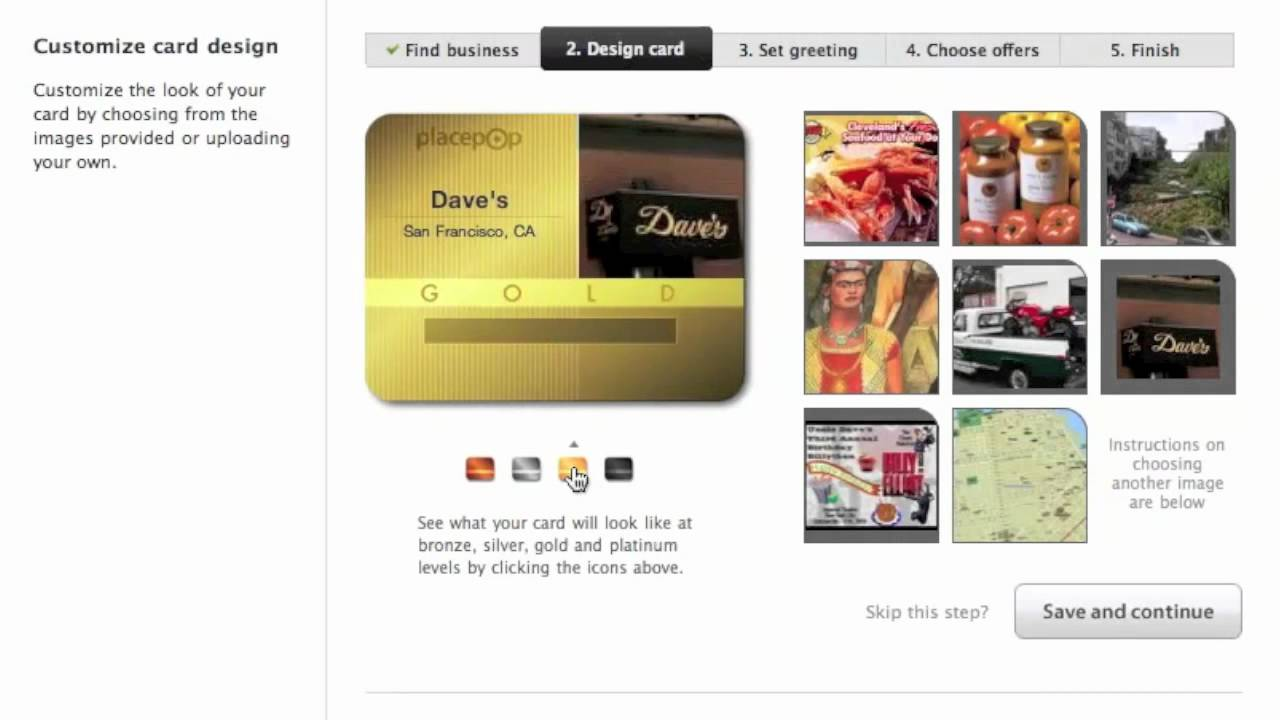 PlacePop Tour: Mobile Loyalty Cards for Businesses - YouTube