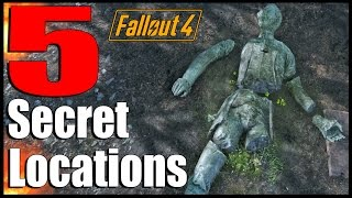Fallout 4 5 Secret Locations with Secret Loot Ep. 8 Fallout 4 Secrets