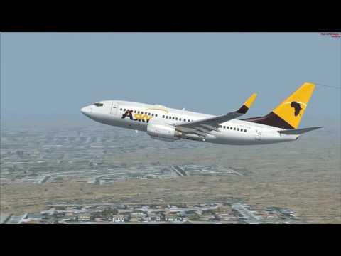 vol Niamey à Bamako Boeing 737 700 Asky vol commenté