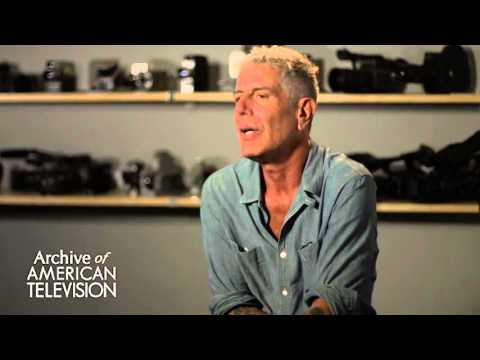 "Anthony Bourdain on the ""Parts Unknown"" theme song and music on his shows - EMMYTVLEGENDS.ORG"