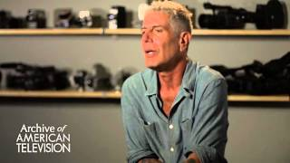 """Anthony Bourdain on the """"Parts Unknown"""" theme song and music on his shows - EMMYTVLEGENDS.ORG"""