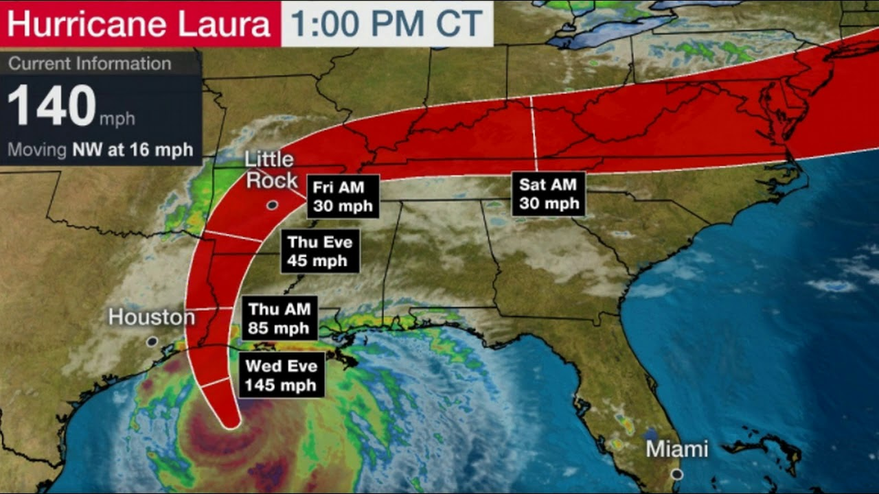 GET OUT NOW! Monster Cat 4 Hurricane Laura To Hit Texas, Louisiana with 'Unsurvivable Storm Sur