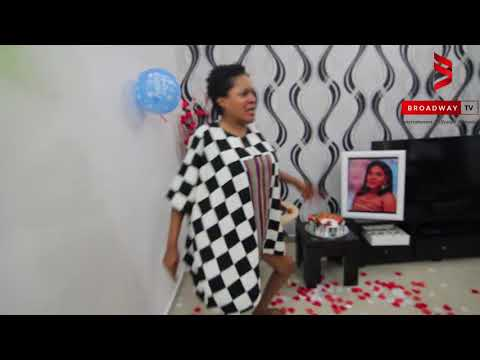 Watch Toyin Abraham dance to 'Wo' by Olamide and other songs on her birthday