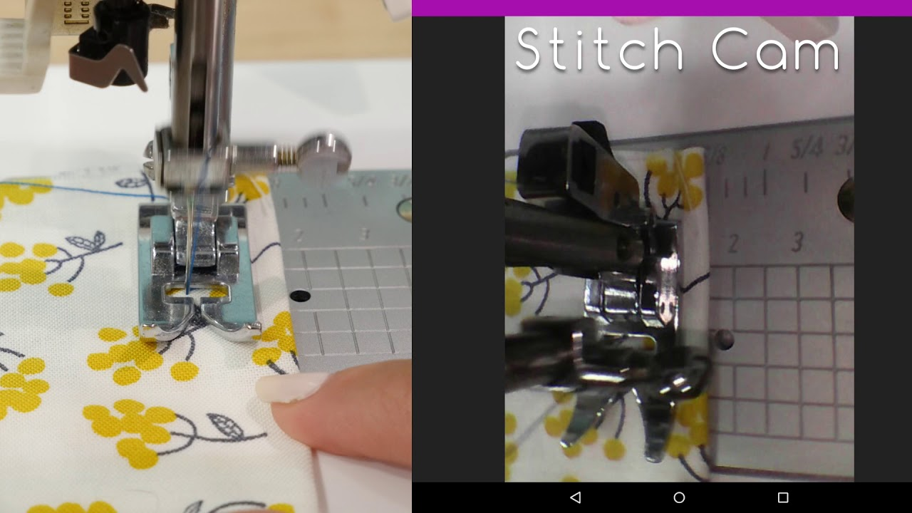How To Use the Spiegel 60609 Sewing Machine Stitch Camera