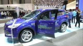 NEW FORD KUGA 2013 SALON AUTO GENEVE CAR AUTOMOBILE АВТОМОБИЛЬ ЖЕНЕВА SUV CROSSOVER