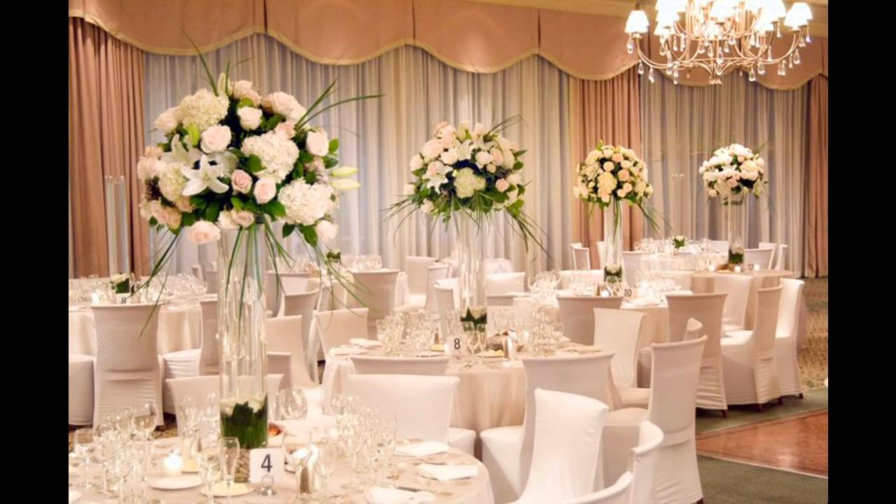 flower decorations for wedding tables beautiful wedding flower arrangement ideas 4166