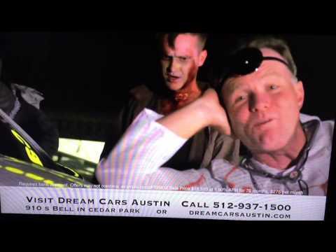 Halloween car dealership commercial