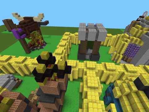 Minecraft PE- Clash of Clans Map