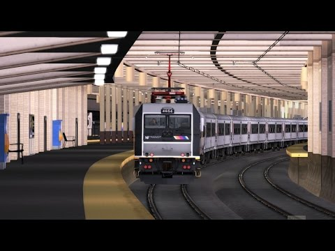 Train Simulator 2016 HD: New Jersey Transit ALP-46A 4654 Powers Train 3278 (Long Branch to New York)