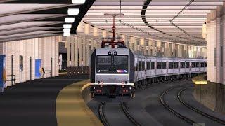 Train Simulator 2016 HD: New Jersey Transit ALP-46A 4654 Powers Train 3278 (Long Branch to New York)