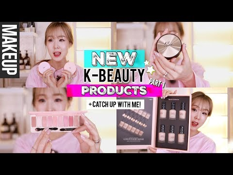 NEW KOREAN BEAUTY PRODUCTS #1 + CATCH UP WITH ME! Pyunkang Hospital, 99%IS Fashion Show | meejmuse