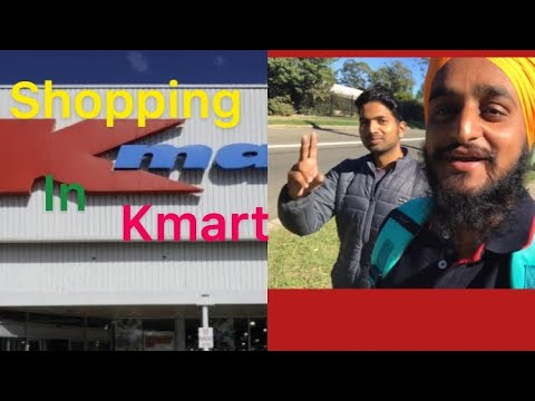 Shopping In Kmart Sydney Australia 🇦🇺