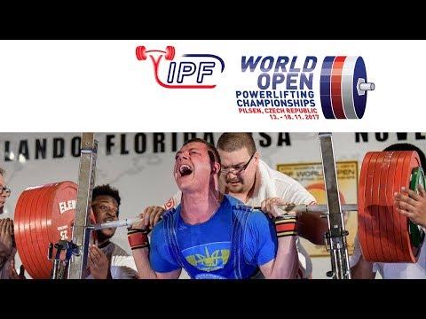 Women, 72 kg - World Open Powerlifting Championships 2017