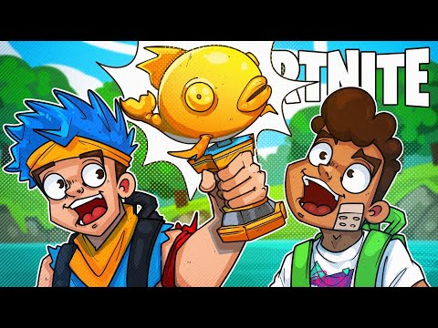 WHERE IS THE MYTHIC FISH TROPHY!? - Fortnite Battle Royale!