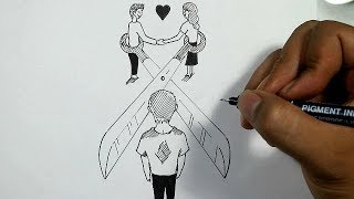 Drawing Broken Love