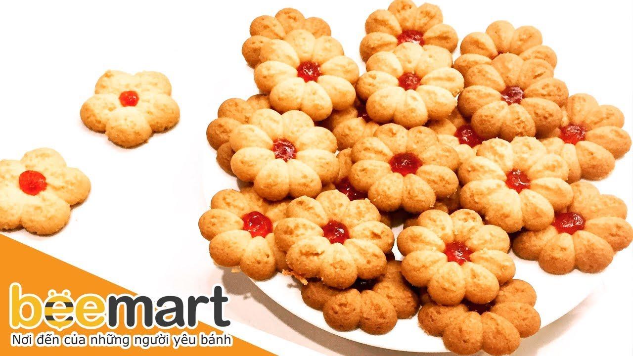 Cách làm bánh quy phô mai mứt dâu tây (cream cheese cookies) – BEEMART