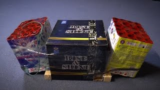 Vuurwerk Project   Spider King 2x + Rise & Shine 1x ᴴᴰ