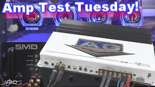 Amp Test Tuesday! Zapco AG200 + the Guts (cover removed)