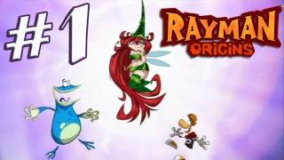 Rayman Origins Part 1 (Wii) co-op