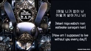 [B.A.P] 1004 (Angel) Hangul/Romanized/English Sub Lyrics