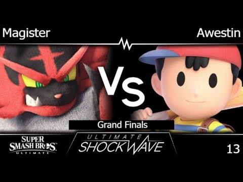 USW 13 - HNTI | Magister (Incineroar) vs TLOC | Awestin (Ness) Grand Finals - SSBU