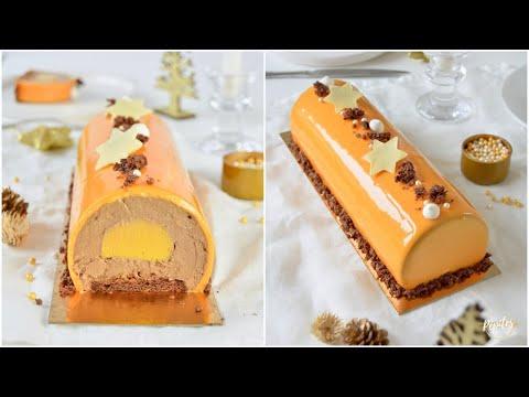 bûche-de-noël-chocolat-au-lait-passion-!